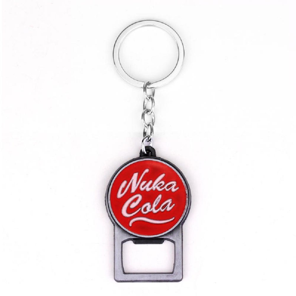 fallout nula cola keyring bottle opener. Black Bedroom Furniture Sets. Home Design Ideas