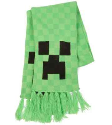 Minecraft 'Creeper' Scarf