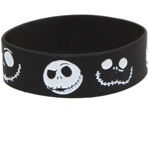 Nightmare Before Christmas 'Jack' Silicone Rubber Wrist Band