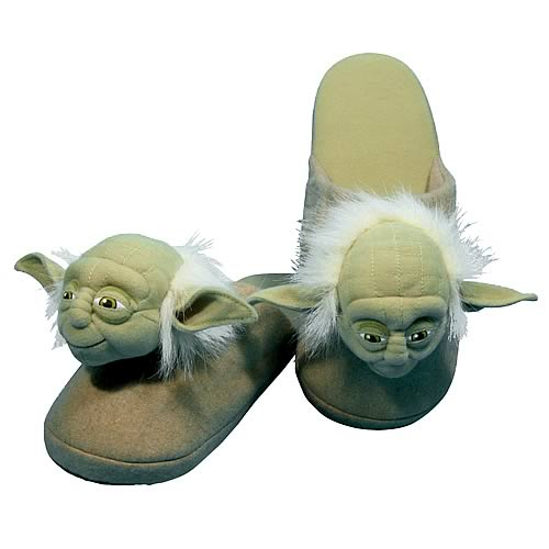 star wars yoda pictures. Star Wars #39;Yoda#39; Slippers