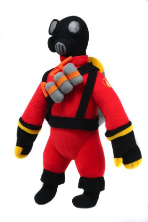 Team Fortress 2 'The Pyro' Plush
