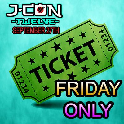 J-Con Friday Only Ticket (Standard)