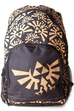 Legend Of Zelda 'Golden' Back Pack