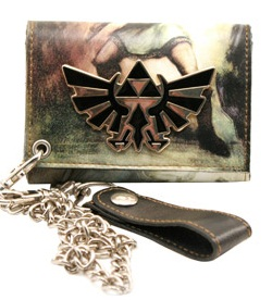 Legend Of Zelda 'Tri Force' Chain Wallet